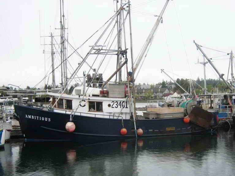 Steel Trawler Longline Troller