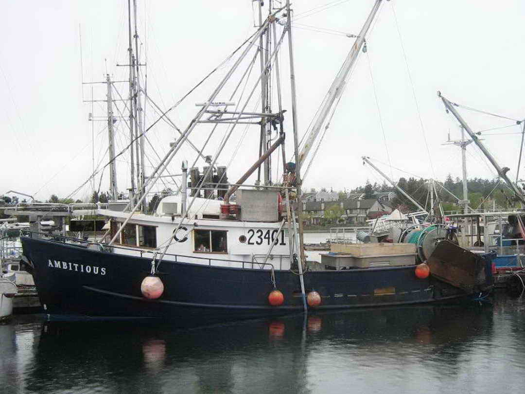 Steel trawler longline troller for Commercial fishing boats for sale gulf coast