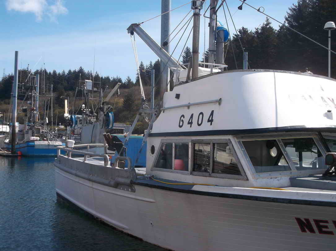 Crab Salmon Fishing Boat image 3