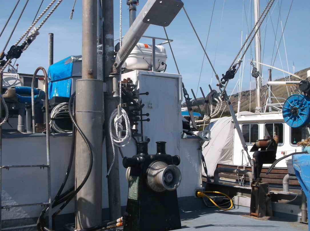 Crab Salmon Fishing Boat image 7