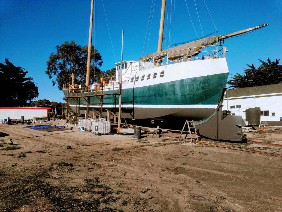 Steel Research Sailboat image 9