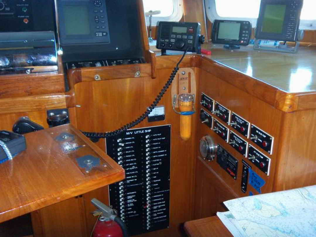 Flybridge Cabin Cruiser - US Coast Guard Conversion image 40