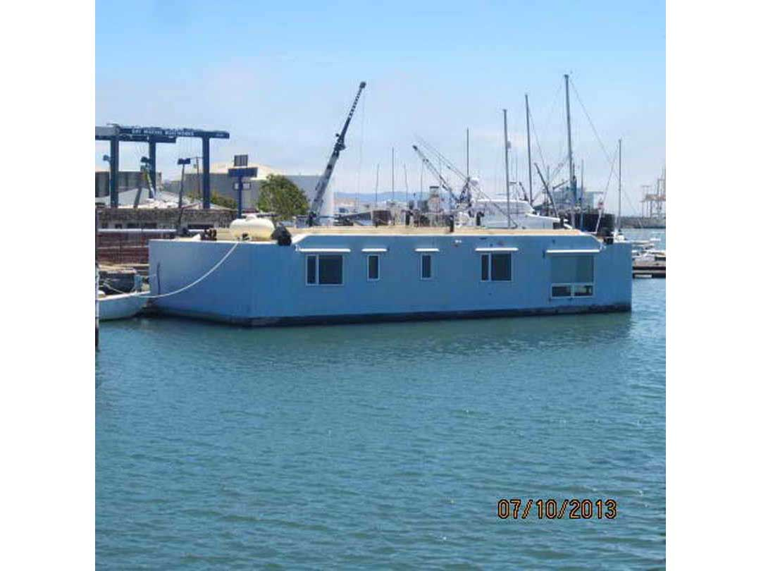 Steel Floating Home image 1