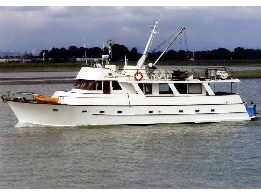 Wood Sather Pilothouse Motor Yacht image 0