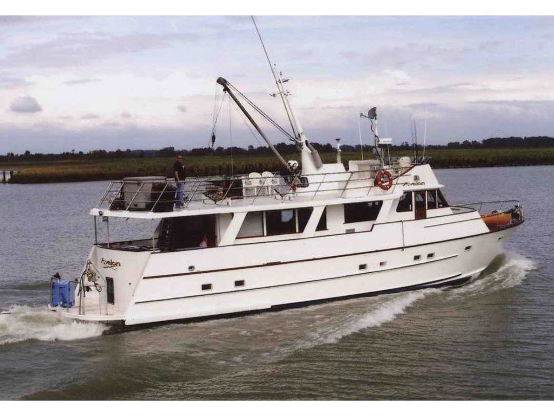 Wood Sather Pilothouse Motor Yacht image 1