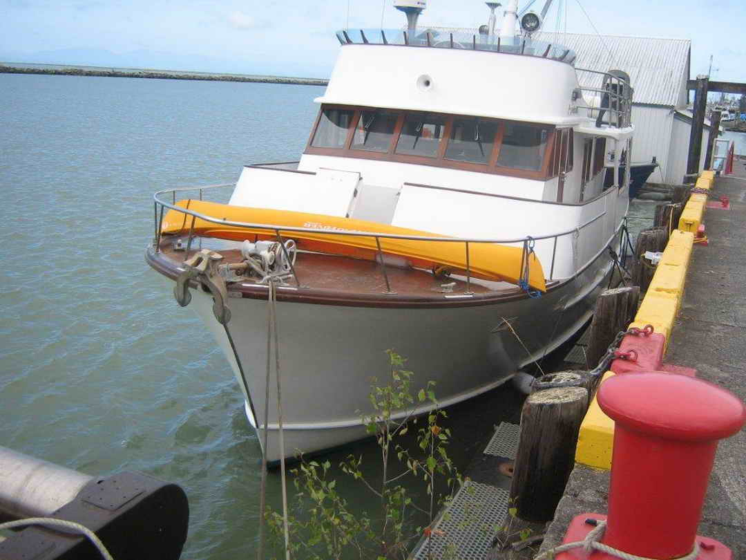 Wood Sather Pilothouse Motor Yacht image 2