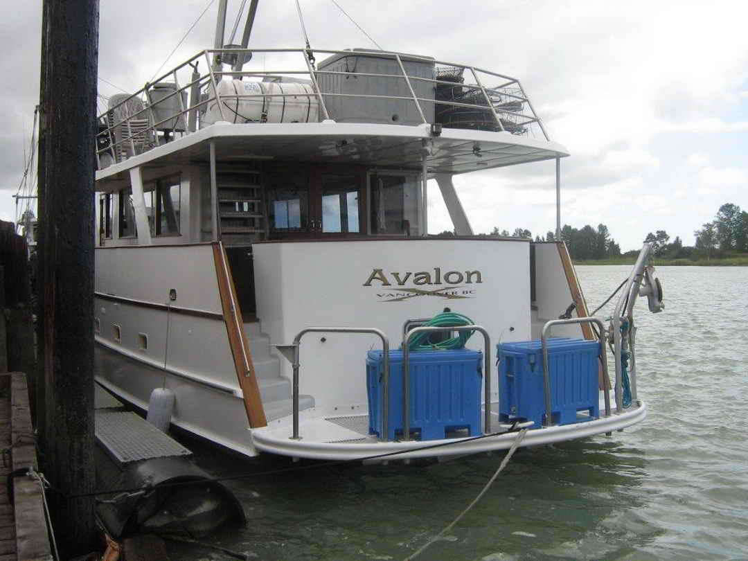 Wood Sather Pilothouse Motor Yacht image 4