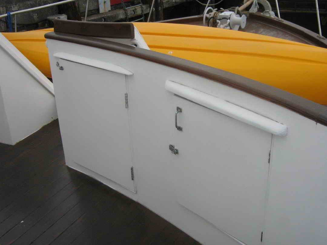 Wood Sather Pilothouse Motor Yacht image 20