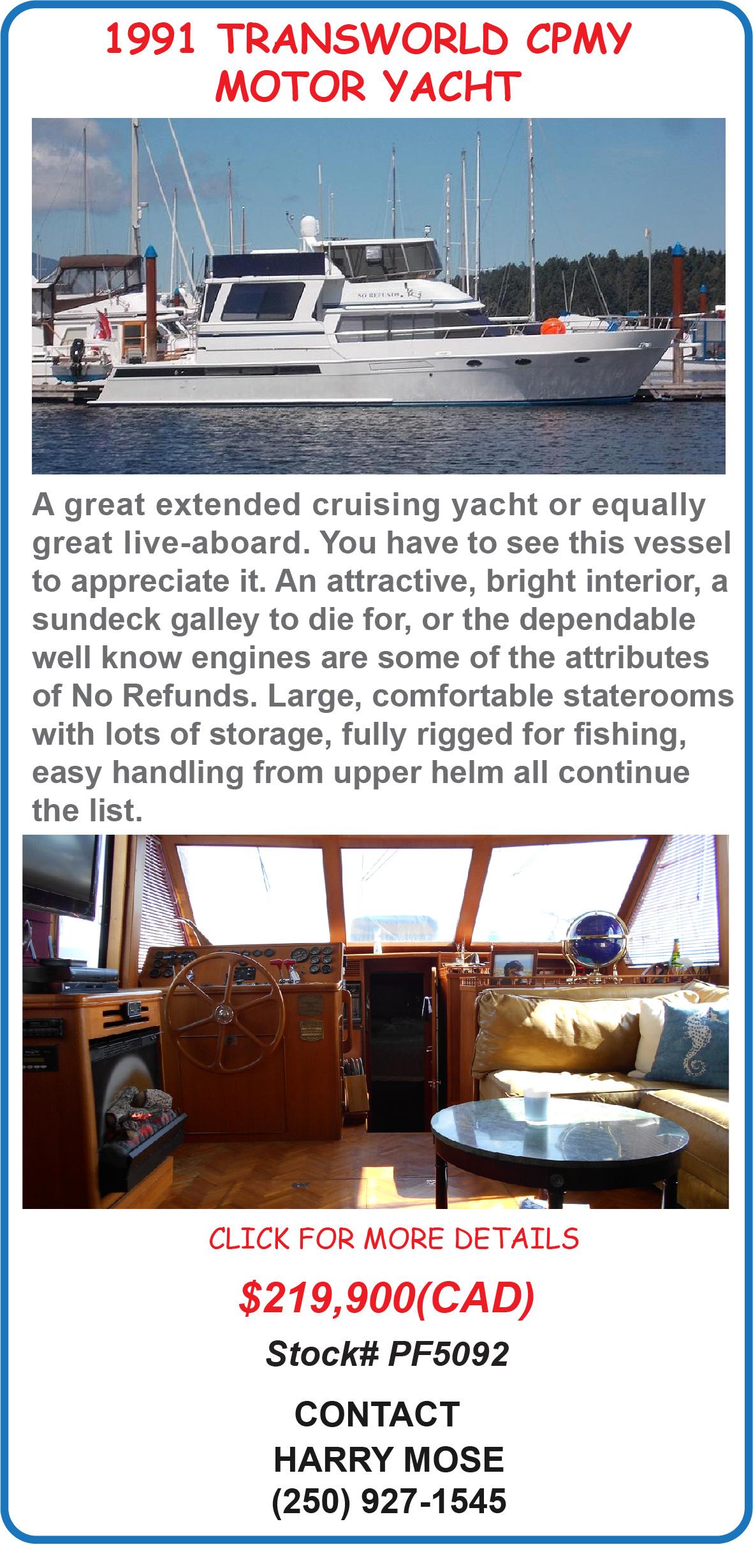 TransWorld CPMY Motor Yacht