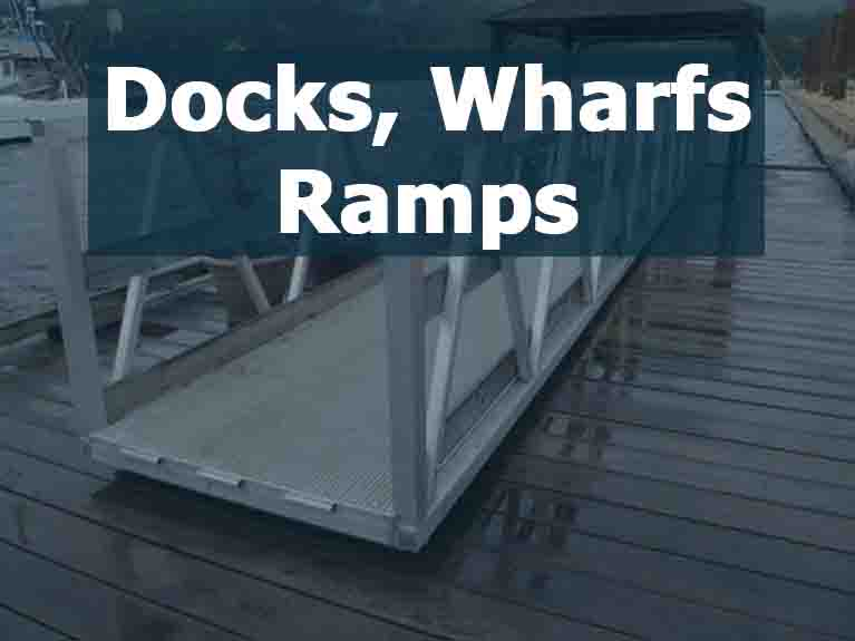 Docks, Wharfs, Ramps For Sale