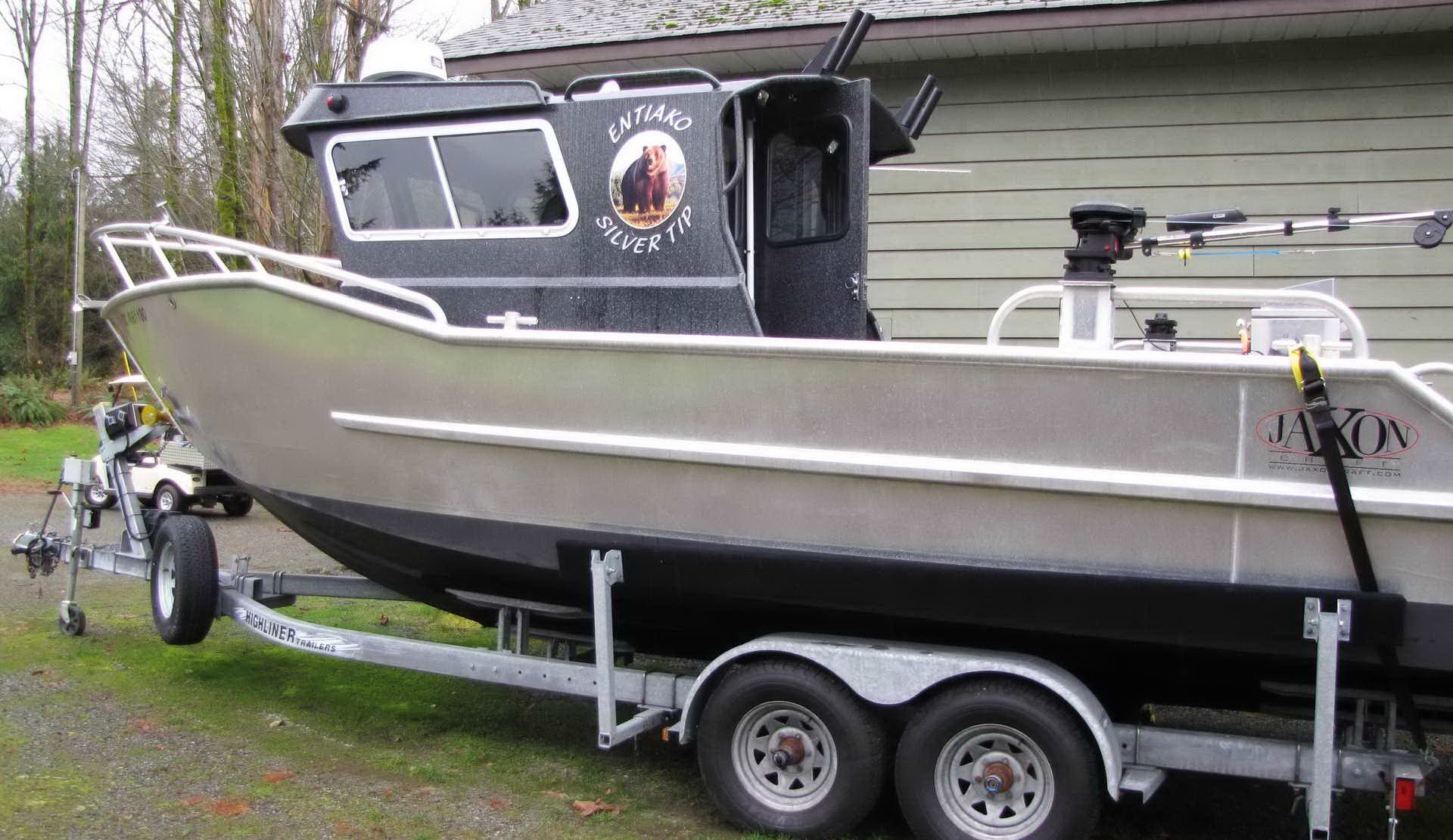 Jaxon Craft 27 Guide Dive Sport Fishing Boat