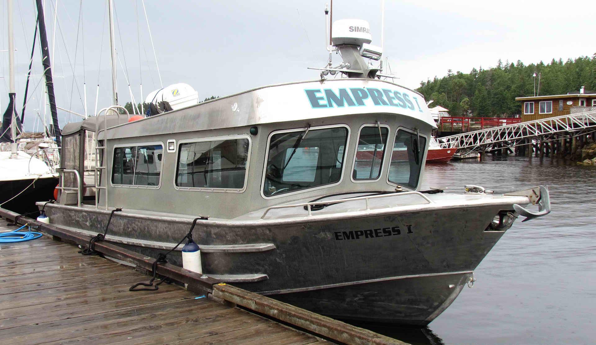 Silver Streak Crew Boat