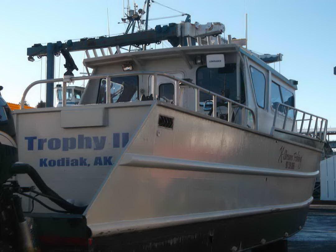 Aluminum Charter Fishing Boat