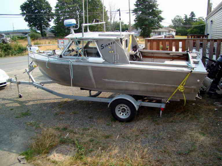 Sport fishing commuter boat for Aluminum craft boats for sale
