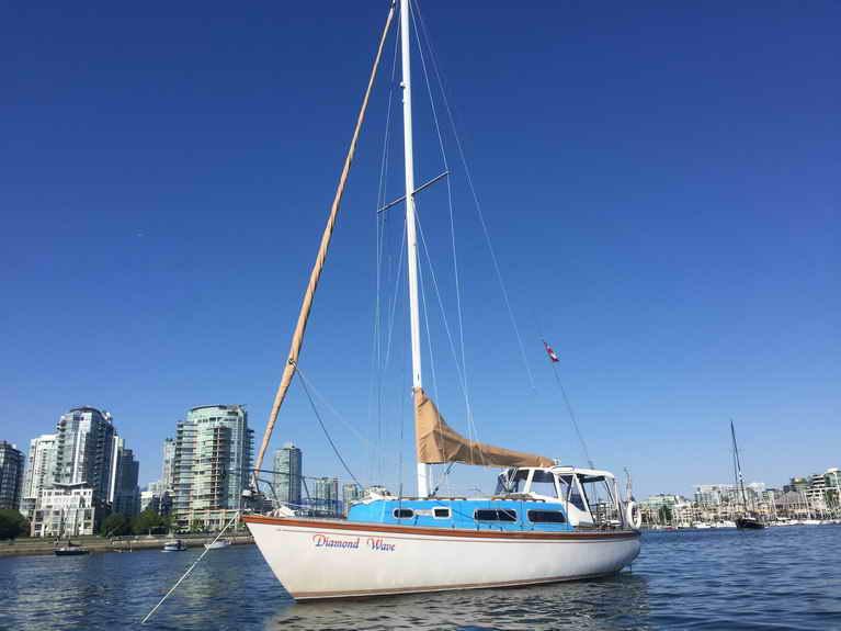 Used Sailboats For Sale >> De Kleer Fraser 30 Sloop