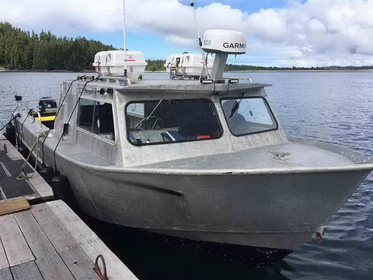 Water Taxi Crab Prawn Dive Boat