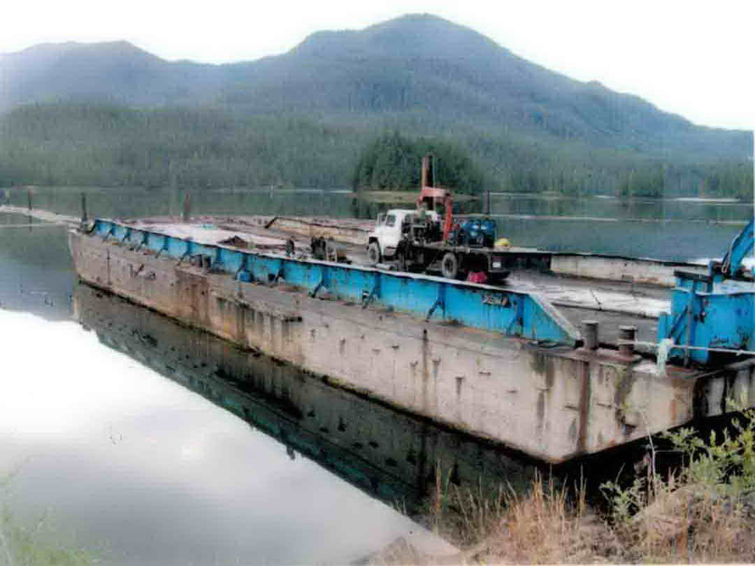 Steel Ramp Barge image 0