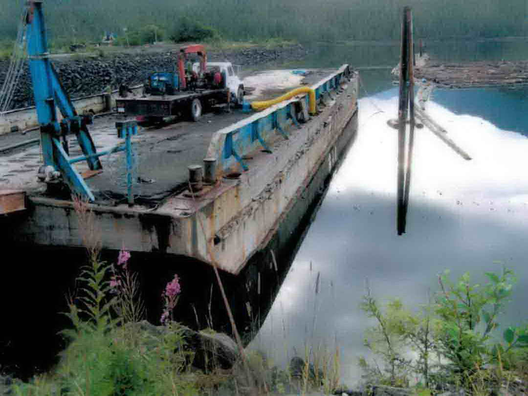 Steel Ramp Barge image 1