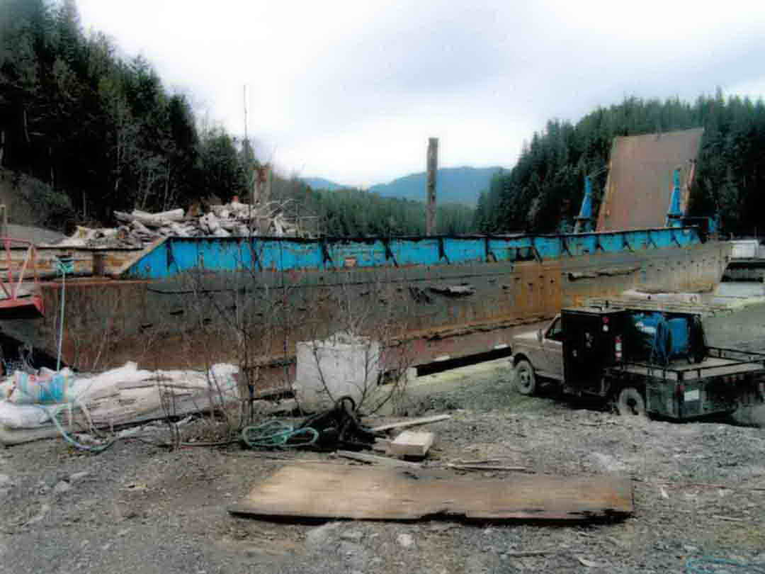 Steel Ramp Barge image 3
