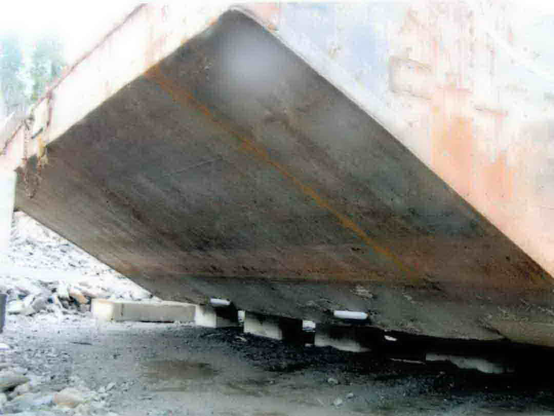 Steel Ramp Barge image 7