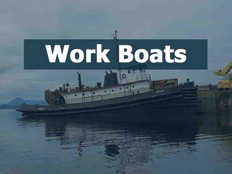 Used Industrial Work Boats For Sale